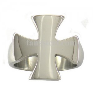 FSR06W81 Maltese Cross Signet Ring