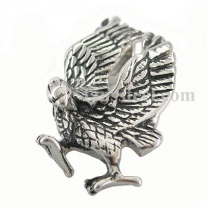 FSP08W04B Stainless steel pendant jumping Eagle pendant FSP08w04B