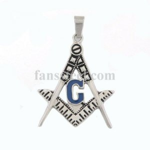 FSP16W10 ring free masonary masonic square and compasses pendant FSP16W10