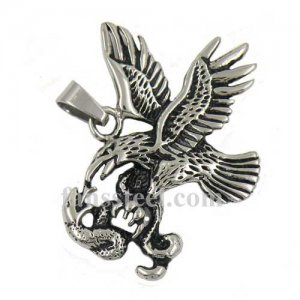 FSP15W93 the eagle catch the snake pendant