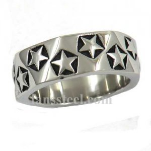 FSR12W57 star around band Ring