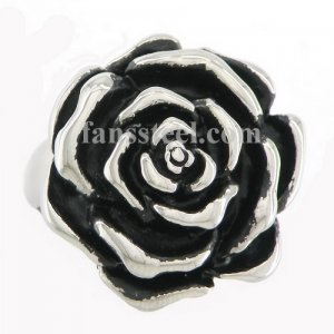 FSR09W34 rose flower ring
