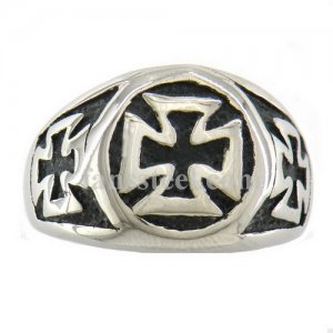 FSR09W94 military German Iron cross ring
