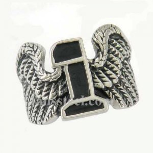 FSR11W66 wing number one biker Ring