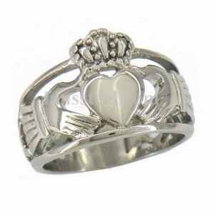 FSR11W30 Celtic Infinity Love Heart Princess Crown Claddagh Friendship Ring