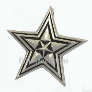 FSP17W43 five pointed star Pendant