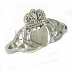FSR11W27 Celtic Infinity Love Heart Princess Crown Claddagh Friendship Ring