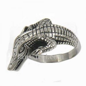 FSR11W94 crawling crocodile alligator animal ring
