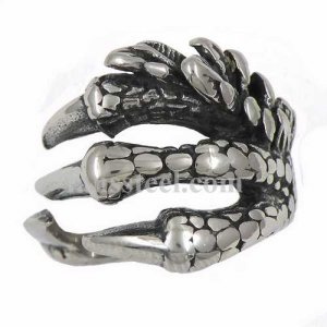 FSR13W08 Eagle claw ring
