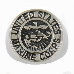 FSR13W80 military United States Marine Corps ring