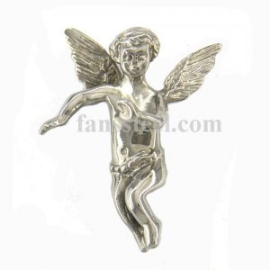 FSP14W78 Guardian Angel Wings Cupid Invisible Bail Pendant