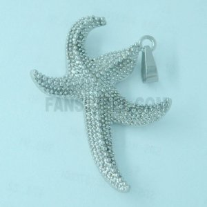 FSP04W18 Sea starfish pendant