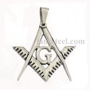 FSP16W32 free masonary blue lodge ruler and square masonic pendant FSP16W32