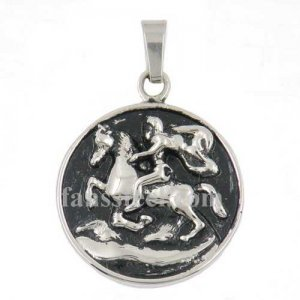 FSP15W10 warrior riding horse march khight pendant