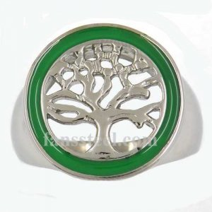 FSR12W62 tree of life plant Ring