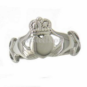 FSR11W26 Celtic Infinity Love Heart Princess Crown Claddagh Friendship Ring