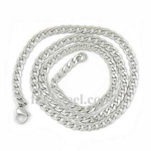 FSCH00W67 twist oval link chain necklace width 5mm length 50cm