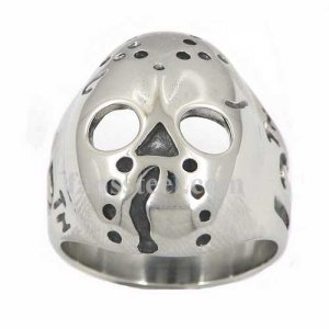 FSR13W11 13 skull iron mask ring