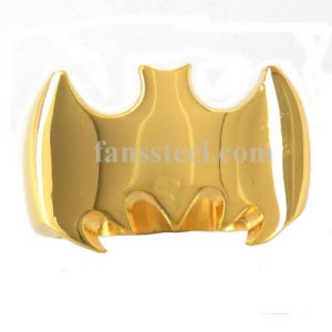 FSR00W37G ring Gold plating batman ring