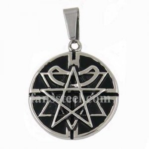 FSP17W13 corss triangle and star circle Pendant