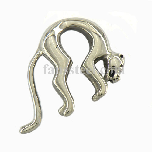 FSP00W19 arch leopard panther Pendant - Click Image to Close